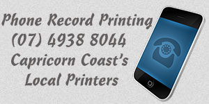 Record Printing - your Capricorn Coast Printer, servicing Yeppoon, Emu Park and Rockhampton - for all your printing needs